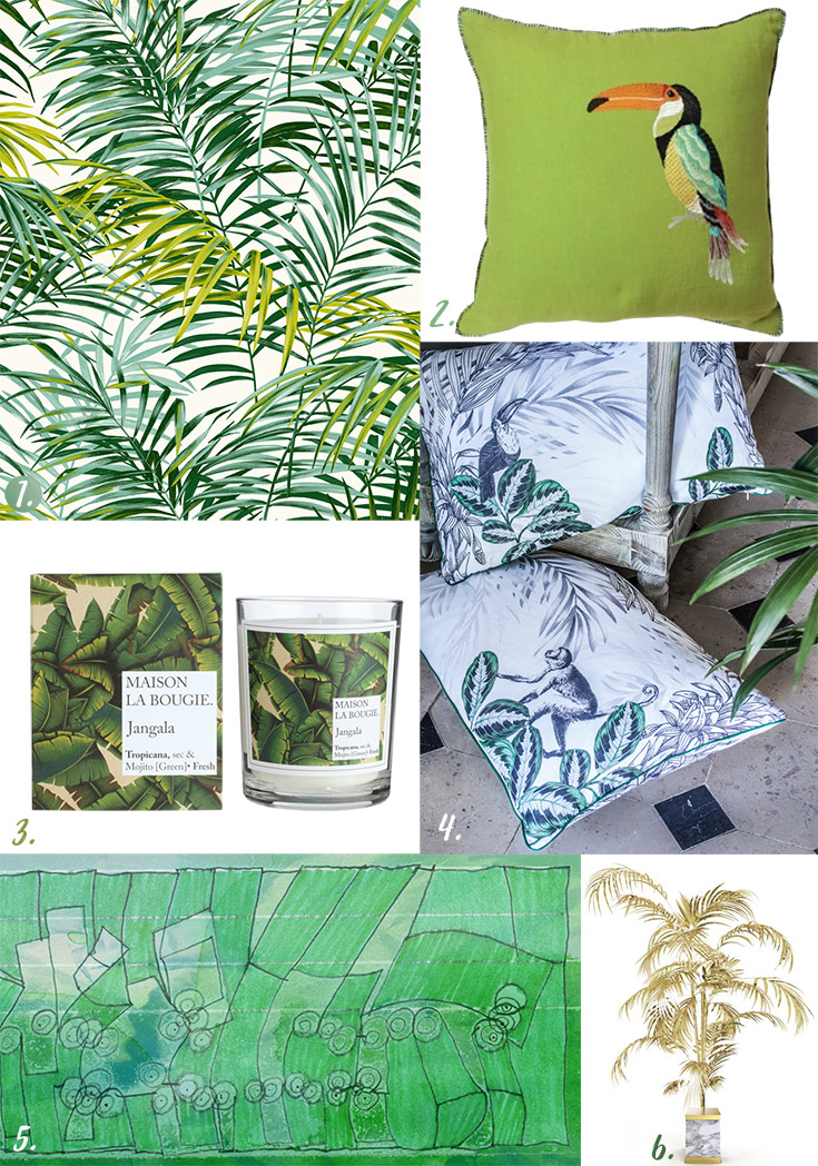 Refresh Your Interior With Greenery Objects + Moodboard