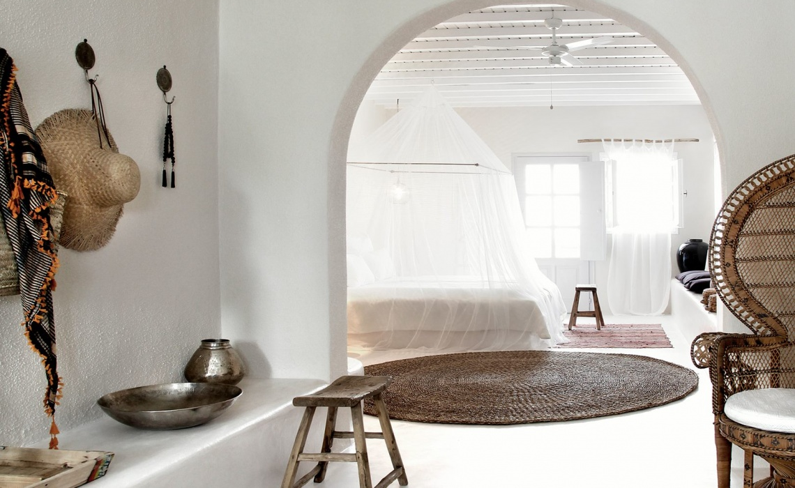 "Design Stay On My Bucket List – ""San Giorgio"" Boho Luxury Hotel in Mykonos"