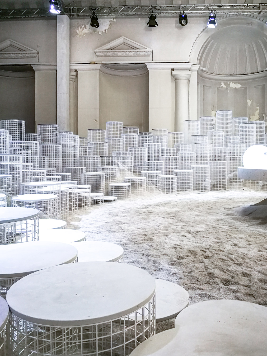Milan Design Week 2018 - Installations You Will Love Caesarstone Snarkitecture - www.AuthenticInterior.com Design Blog
