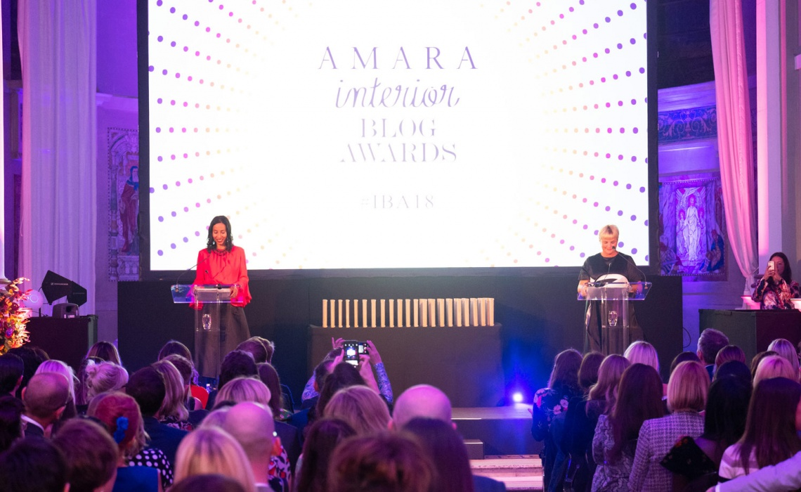 Amara Interior Blog Awards 2018 Night At One Marylebone London!