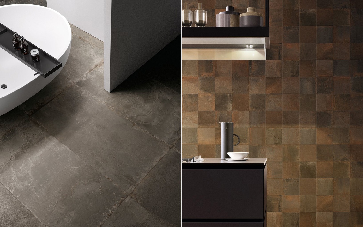 Tile trends for 2019 Ceramica Sant'Agostino - www.authenticinterior.com BLOG