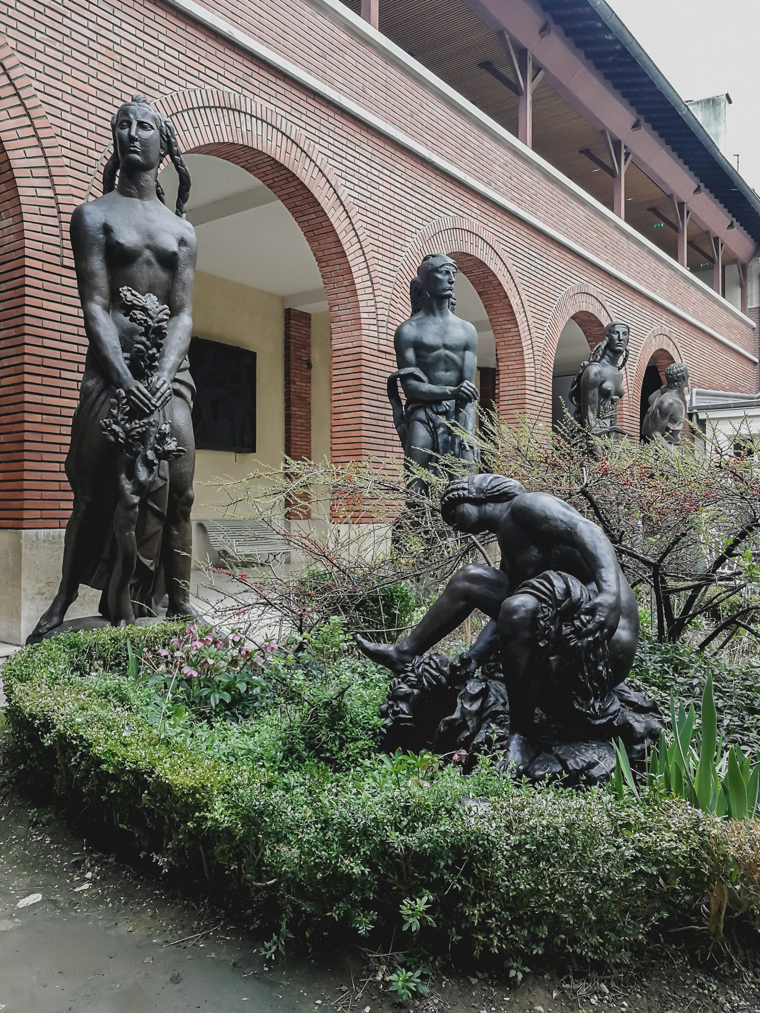 Travel In Paris: Bourdelle Museum - www.AuthenticInterior.com DESIGN BLOG