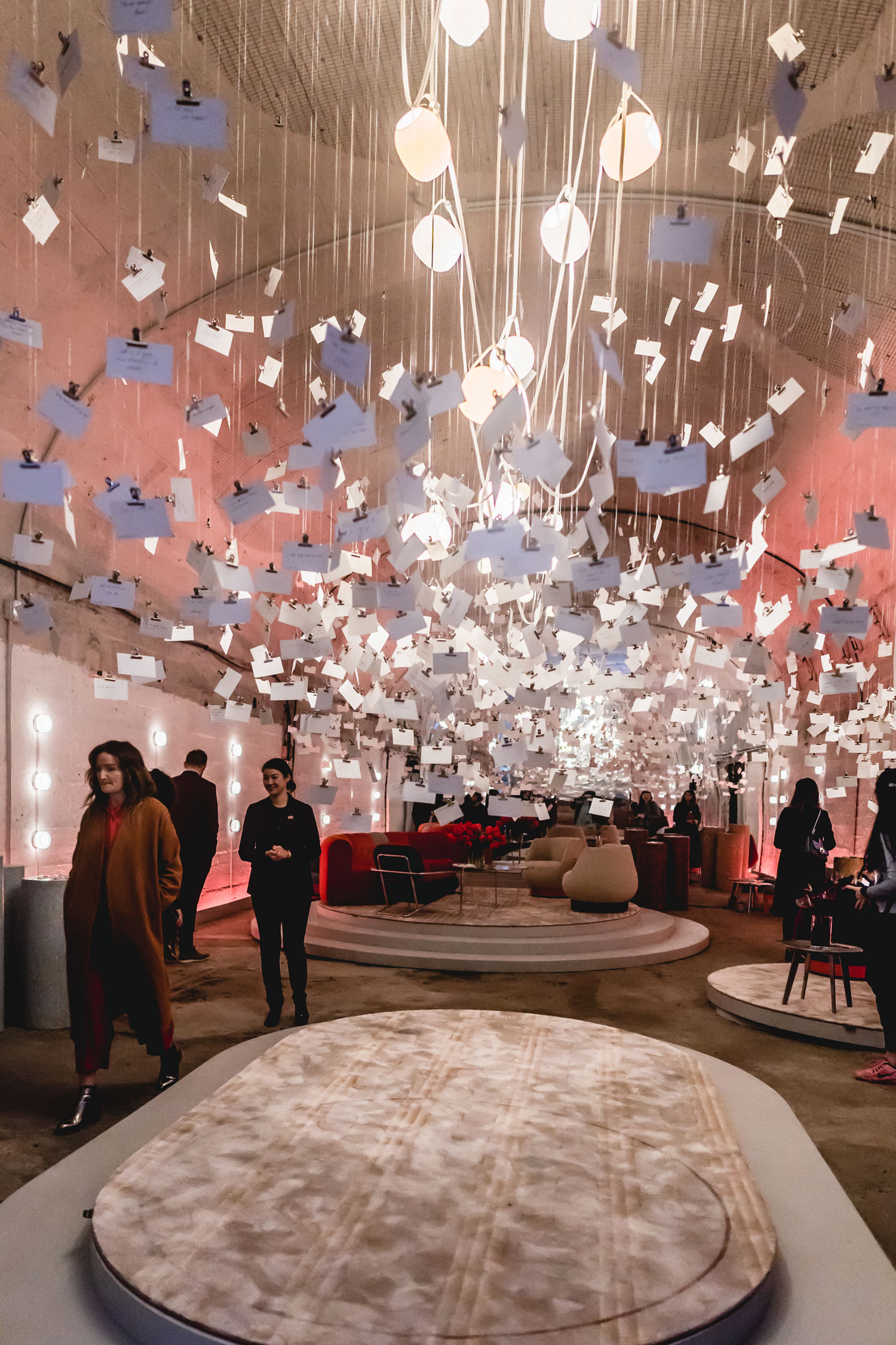 "Best installations seen during Milan design week 2019 - RAPT ""Tell Me More"""