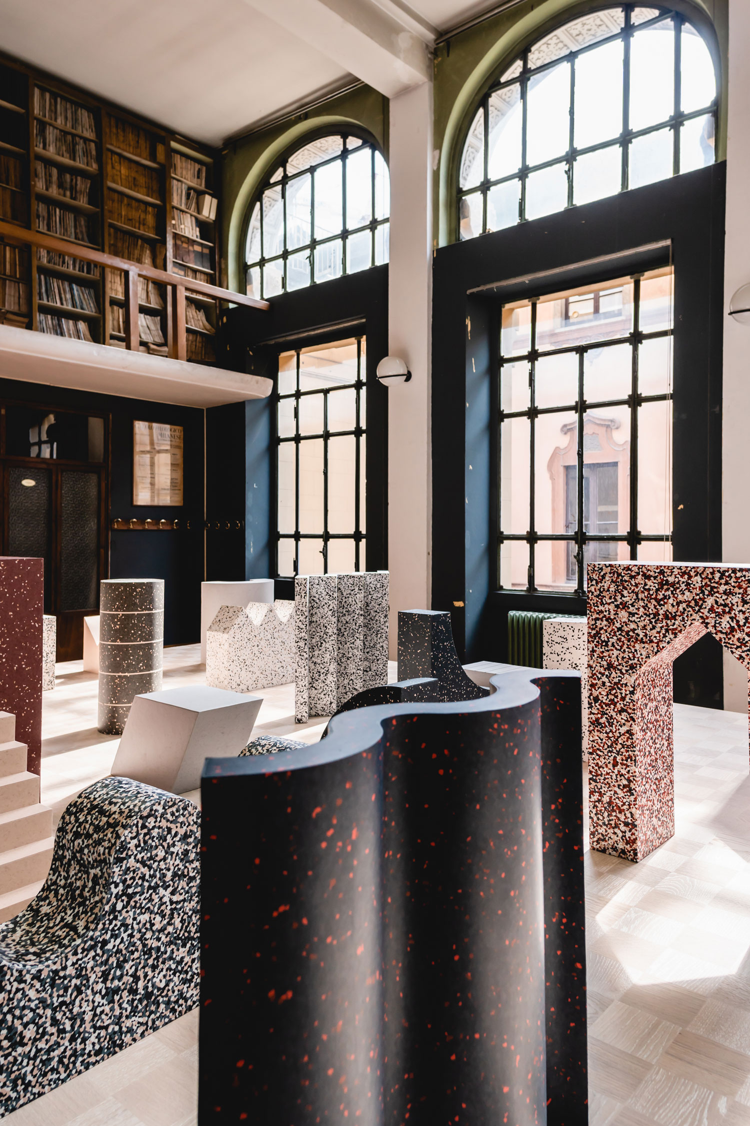 "Best installations seen during milan design week 2019 - Tarkett ""Formations"""