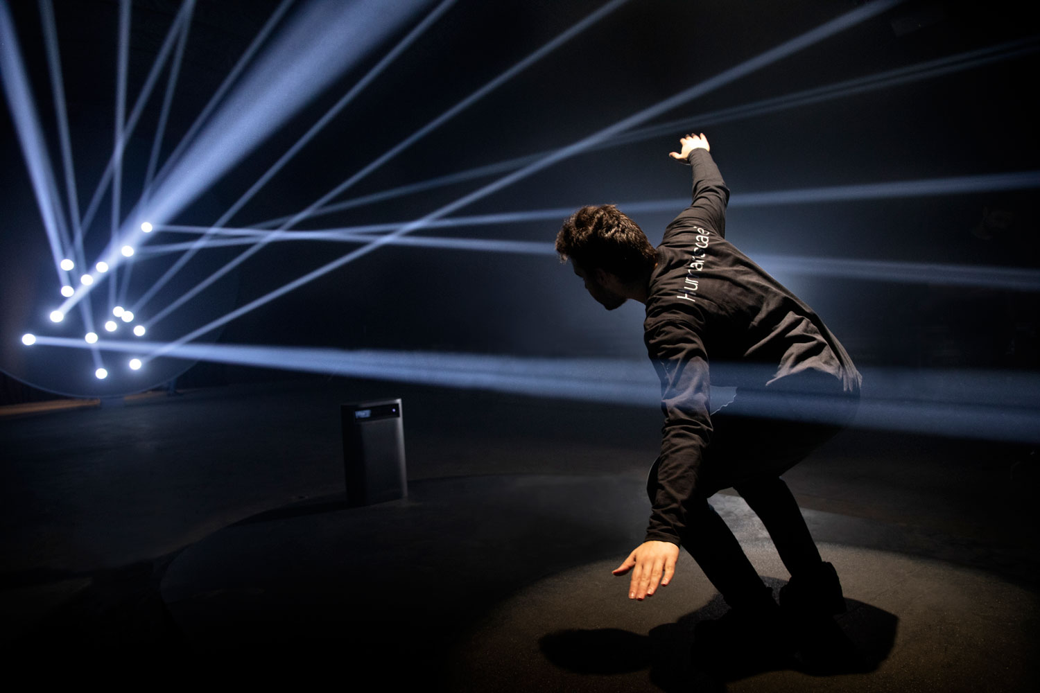 """Best installations seen during milan design week 2019 - Humanscale """"Body In Motion"""""""