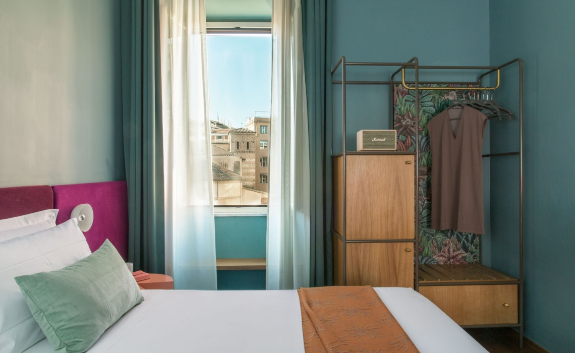 Redefining Hospitality Design With This Vibrant Boutique Hotel In Rome