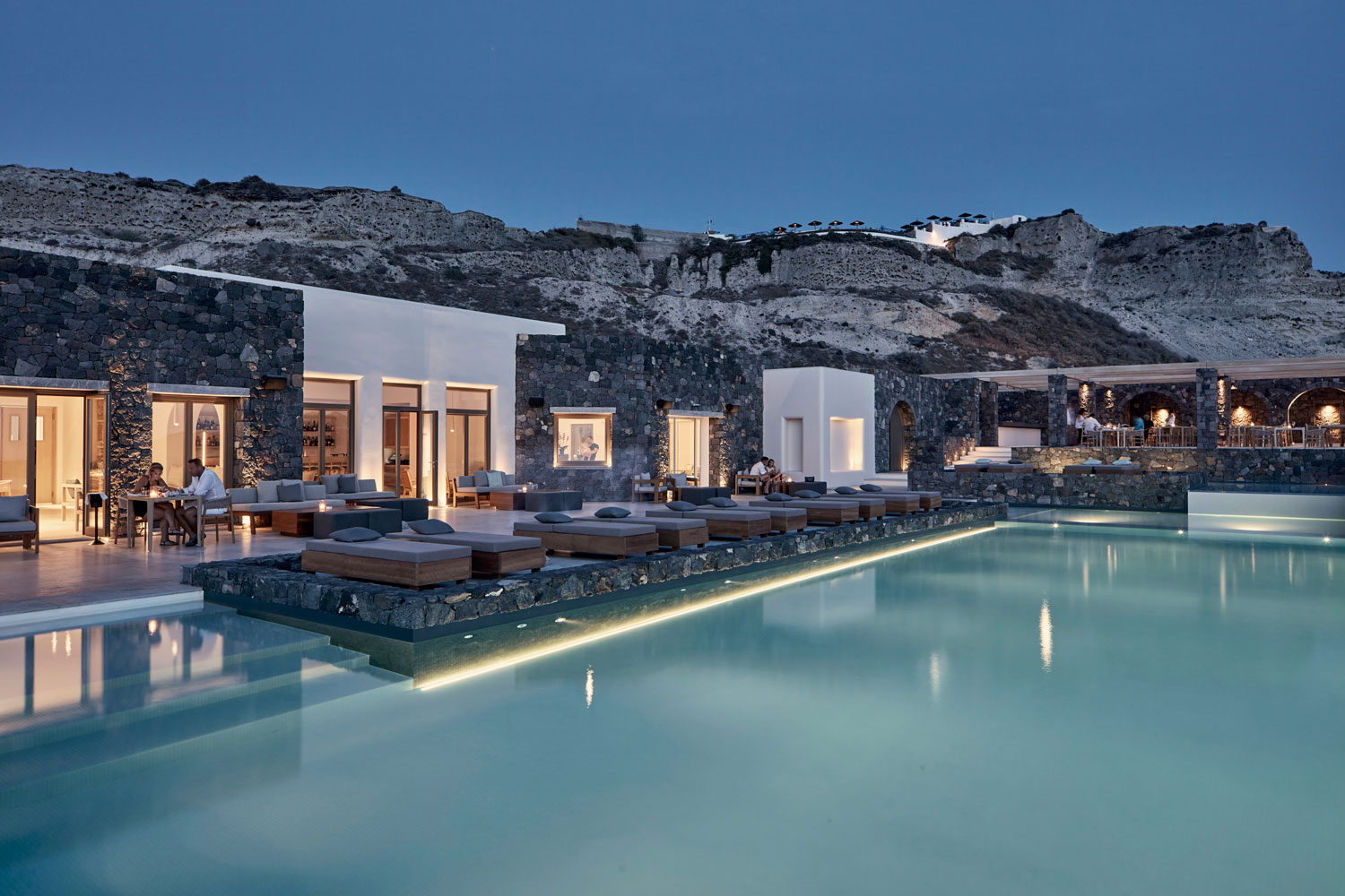Oia Epitome Hotel Offers Infinite Views To Cycladic Landscape -WWW.AUTHENTICINTERIOR.COM design studio & blog Photography Christos Drazos
