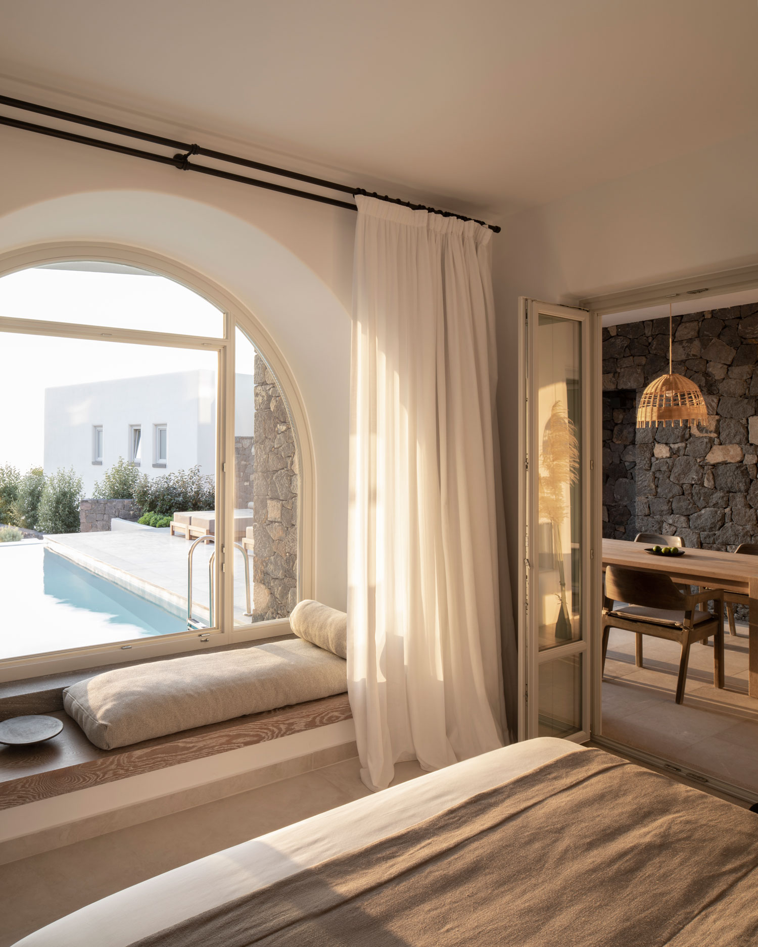Oia Epitome Hotel Offers Infinite Views To Cycladic Landscape -WWW.AUTHENTICINTERIOR.COM design studio & blog Photography Stale Eriksen