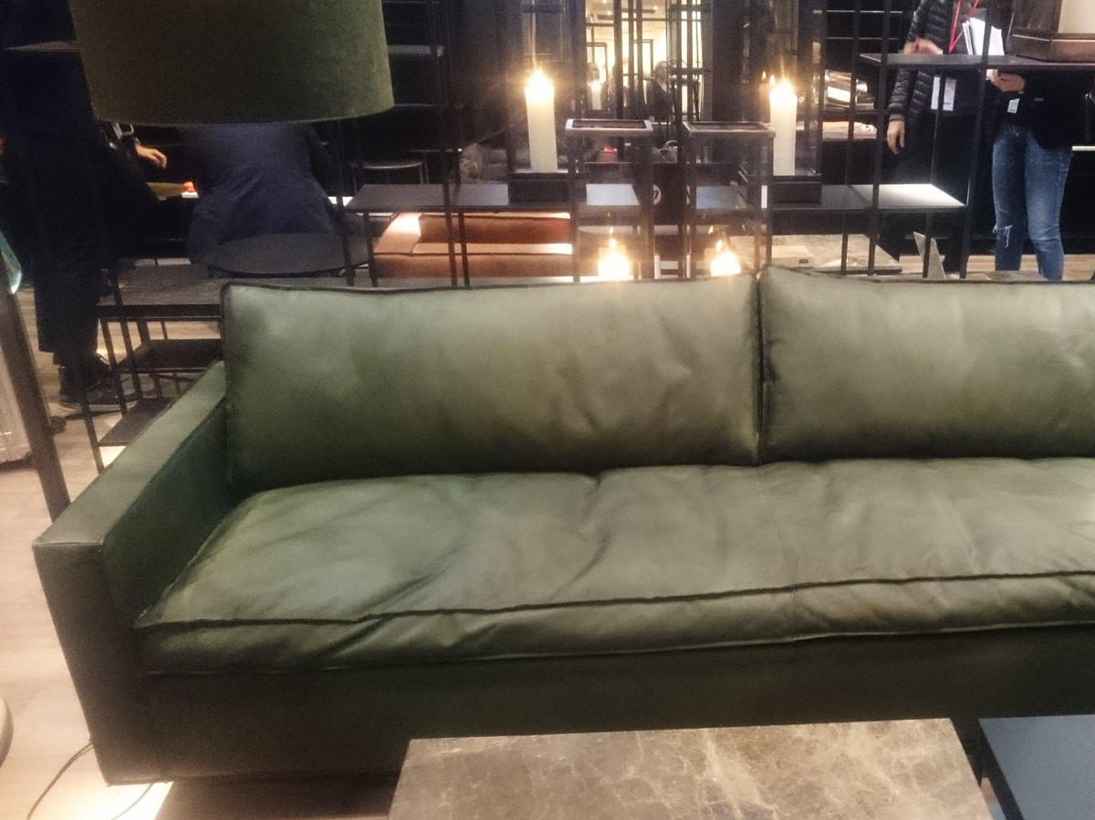 Interior design blog authentic interior leather sofa maison&objet