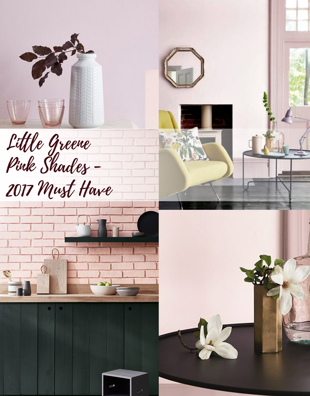 Little Greene Pink Shades 2017 Must Have www.AuthenticInterior.com Interior Design Blog