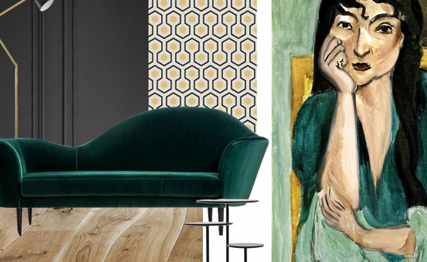 Matisse Inspired Interiors Moodboards Gubi Interior design blog