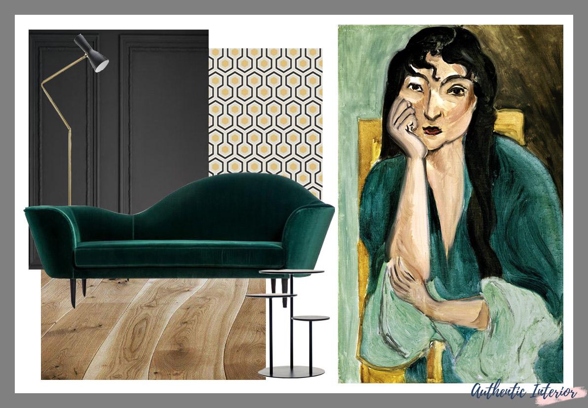 Matisse Inspired Interiors Moodboards Gubi Interior design blog
