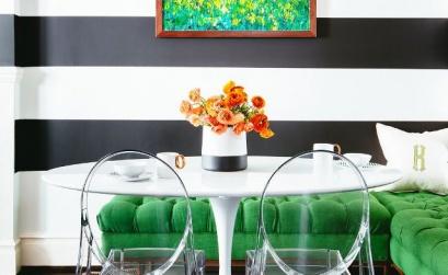 striped wallpaper striped walls interior design blog authentic interior 9a