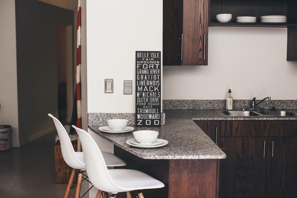 Albert Kahn Designed Industrial Detroit Loft authentic interior design blog