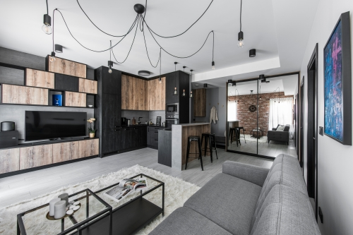 Interior design services industrial modern interior uk london lyon vilnius