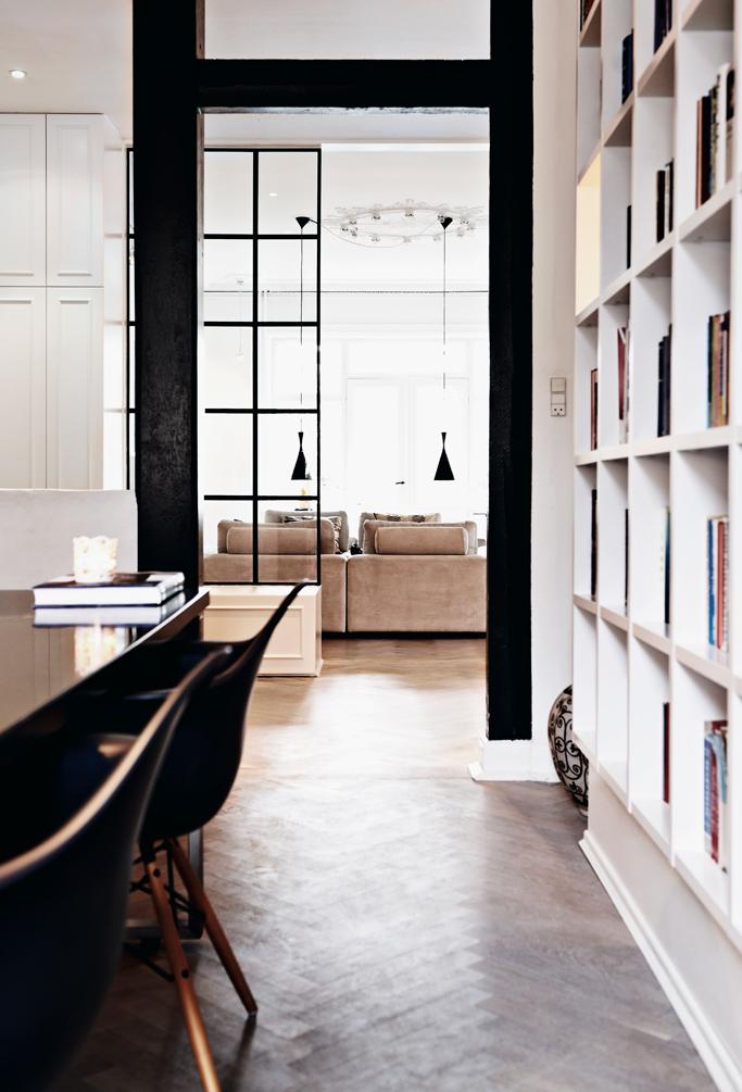 Home Tour: Raw And Wild Monochromatic Apartment - Authentic Interior Design Blog