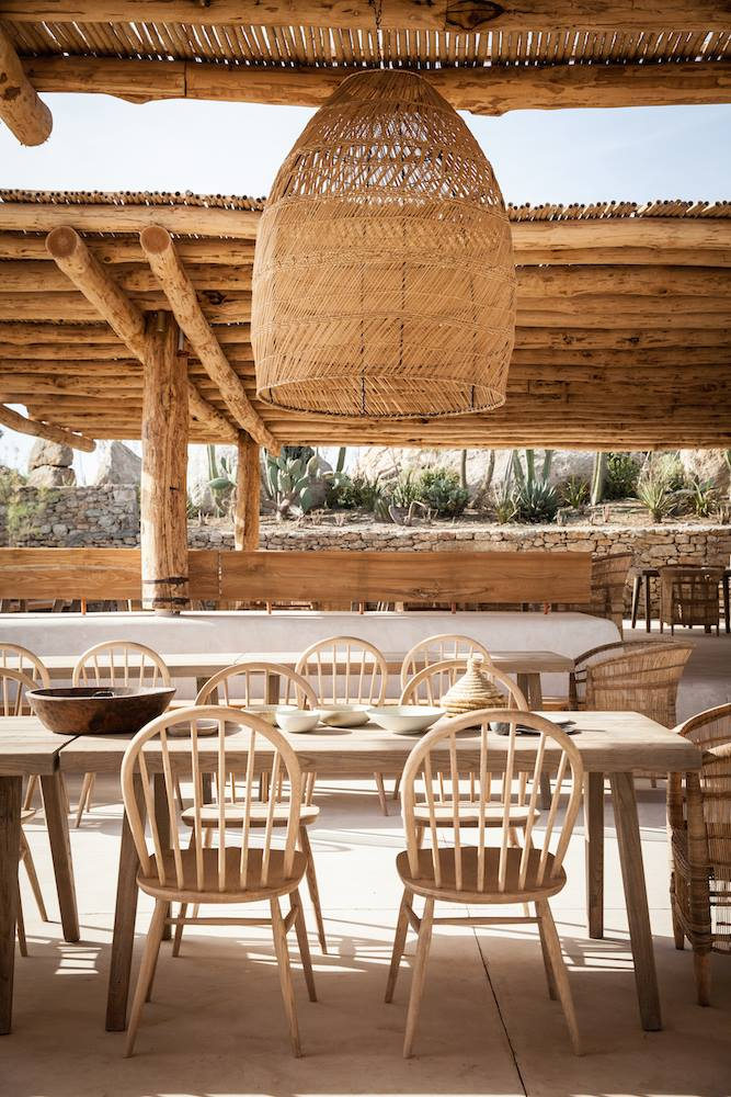 San Giorgio - Boho Luxury Hotel in Mykonos Authentic Interior design blog 4