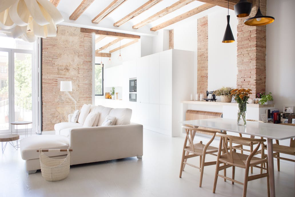A Modern Renovated Spanish Apartment With Authentic Details - Authentic Interior Blog