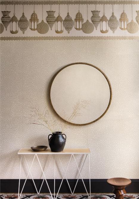 Authentic Interior Design Blog Moroccan Inspired Home New Cole&Son Wallpaper Collection medina