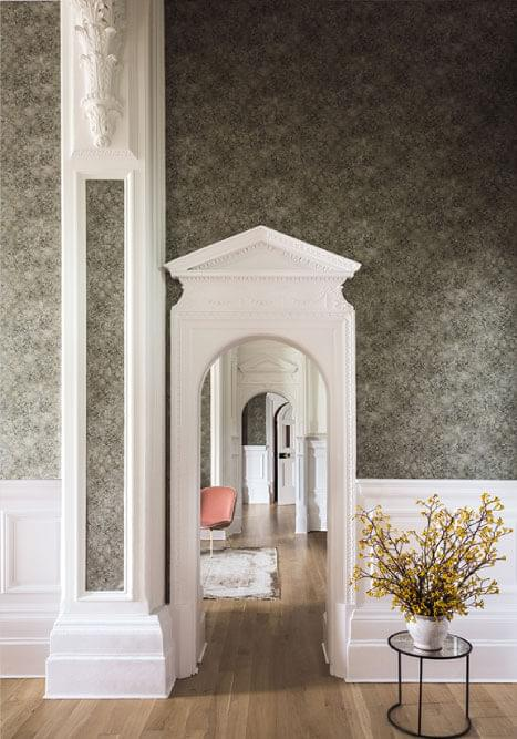 Authentic Interior Design Blog Moroccan Inspired Home New Cole&Son Wallpaper Collection patina haze