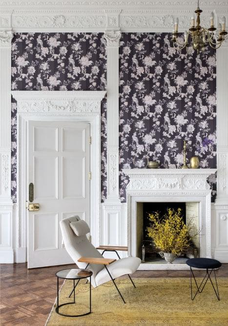 Authentic Interior Design Blog Moroccan Inspired Home New Cole&Son Wallpaper Collection zerzura