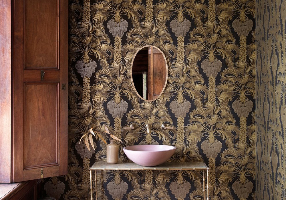 Moroccan Inspired Home: New Cole&Son Wallpaper Collection