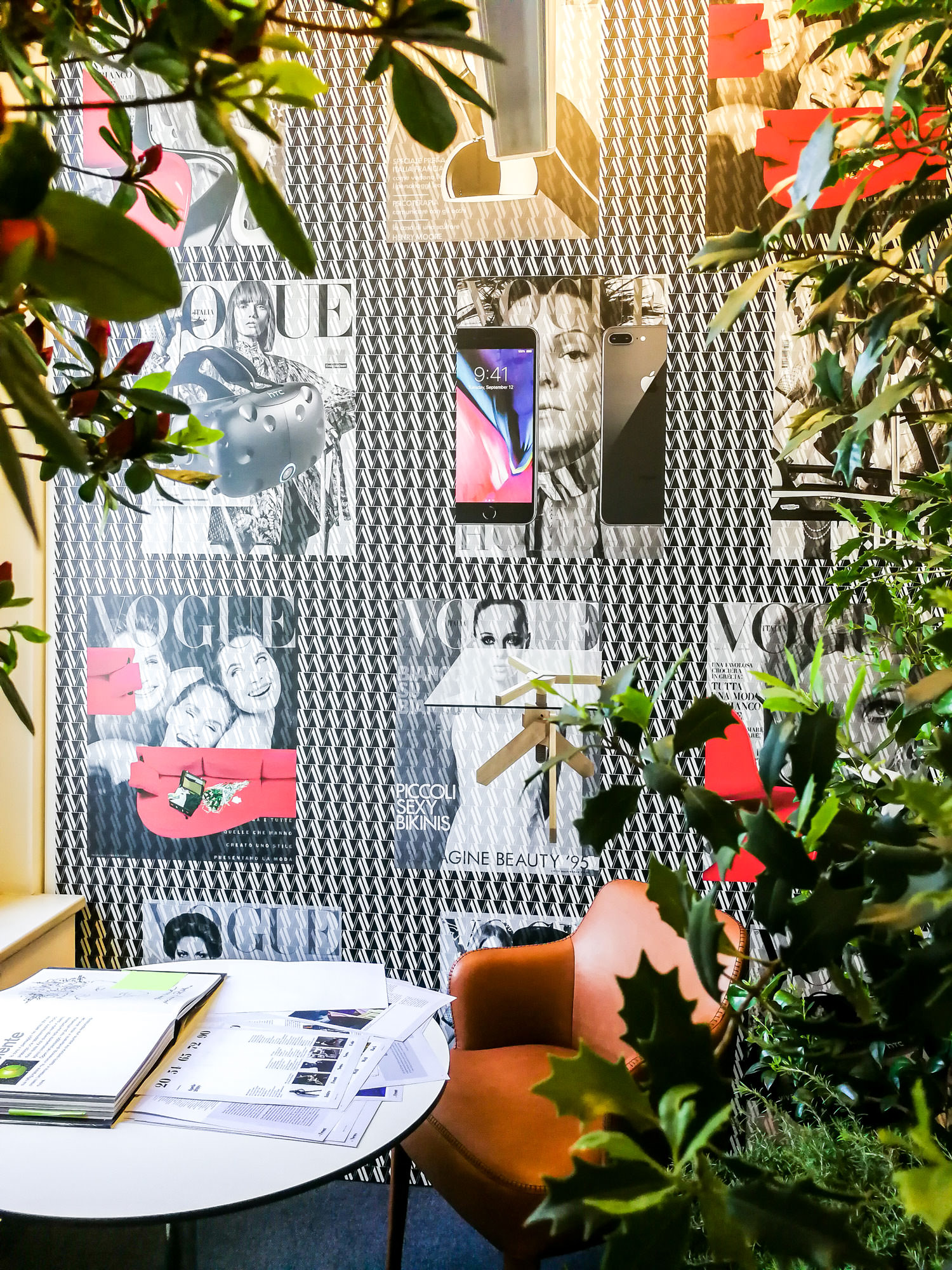 Revisited Vogue Milan Office Spaces You Will Absolutely Love - www.authenticinterior.com Interior design blog and inspiration