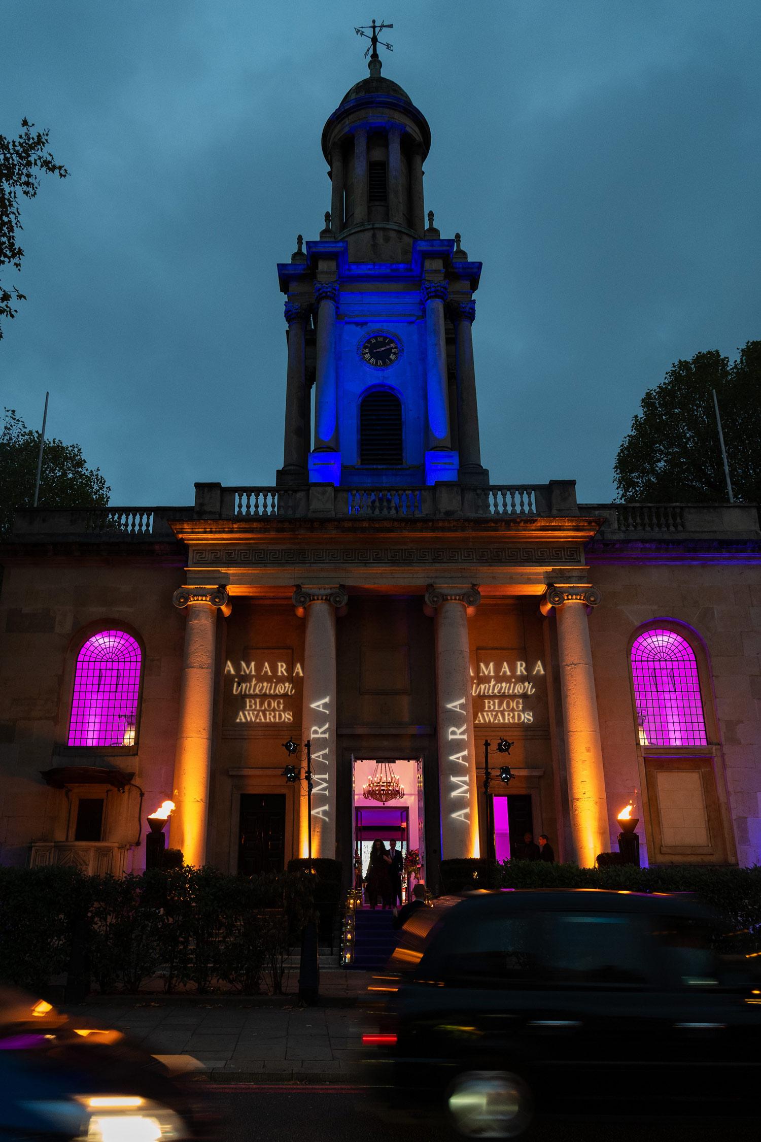 Amara Interior Blog Awards 2018 Night At One Marylebone London - Authentic Interior BLOG www.AuthenticInterior.com