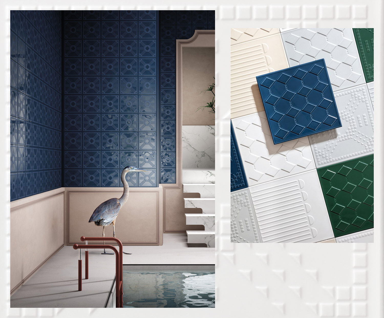 Tile trends for 2019 Ceramica Vogue - www.authenticinterior.com BLOG