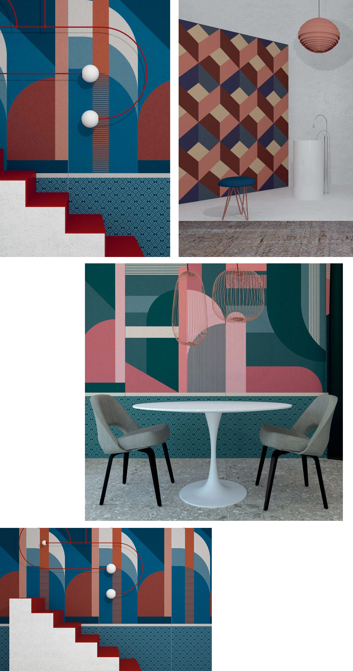Tile trends for 2019 Ornamenta - www.authenticinterior.com BLOG