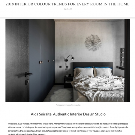 authentic interior design studio press aida sniraite amara colour trends 2018