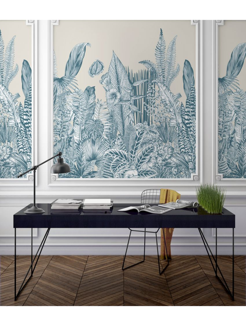 Design Made In France -Exquisite Panoramic Wall Murals For Your Next Interior Renovation papermint 10