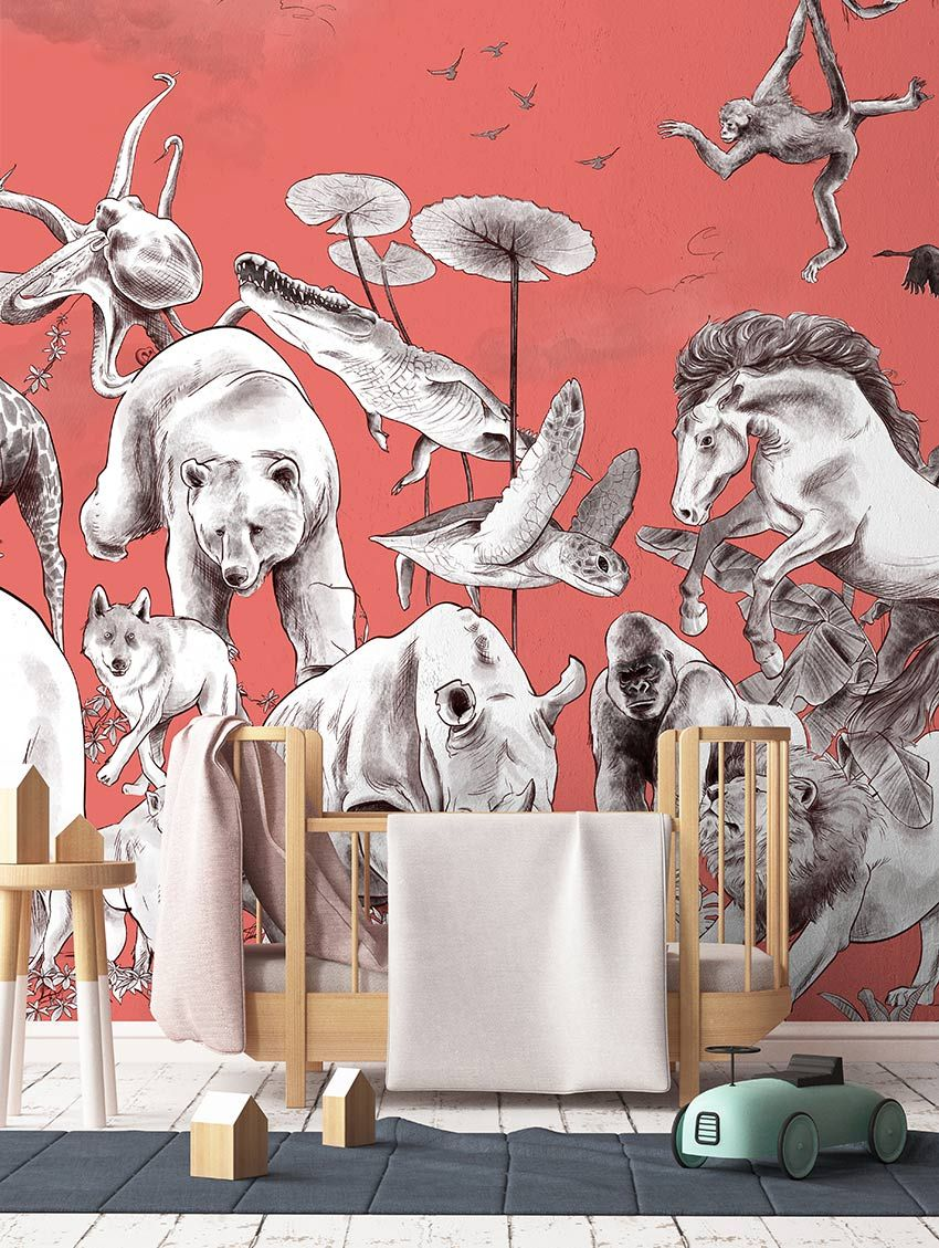 Design Made In France -Exquisite Panoramic Wall Murals For Your Next Interior Renovation papermint 6