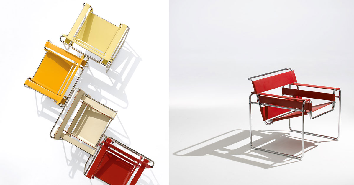 Special Bauhaus 100 Years And Its Iconic Objects - Wassily Chair - Authentic Interior design blog www.AuthenticInterior.com