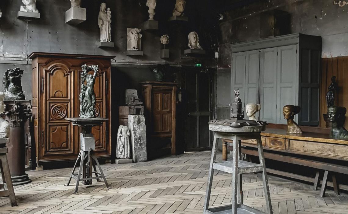 Travel In Paris: Bourdelle Museum