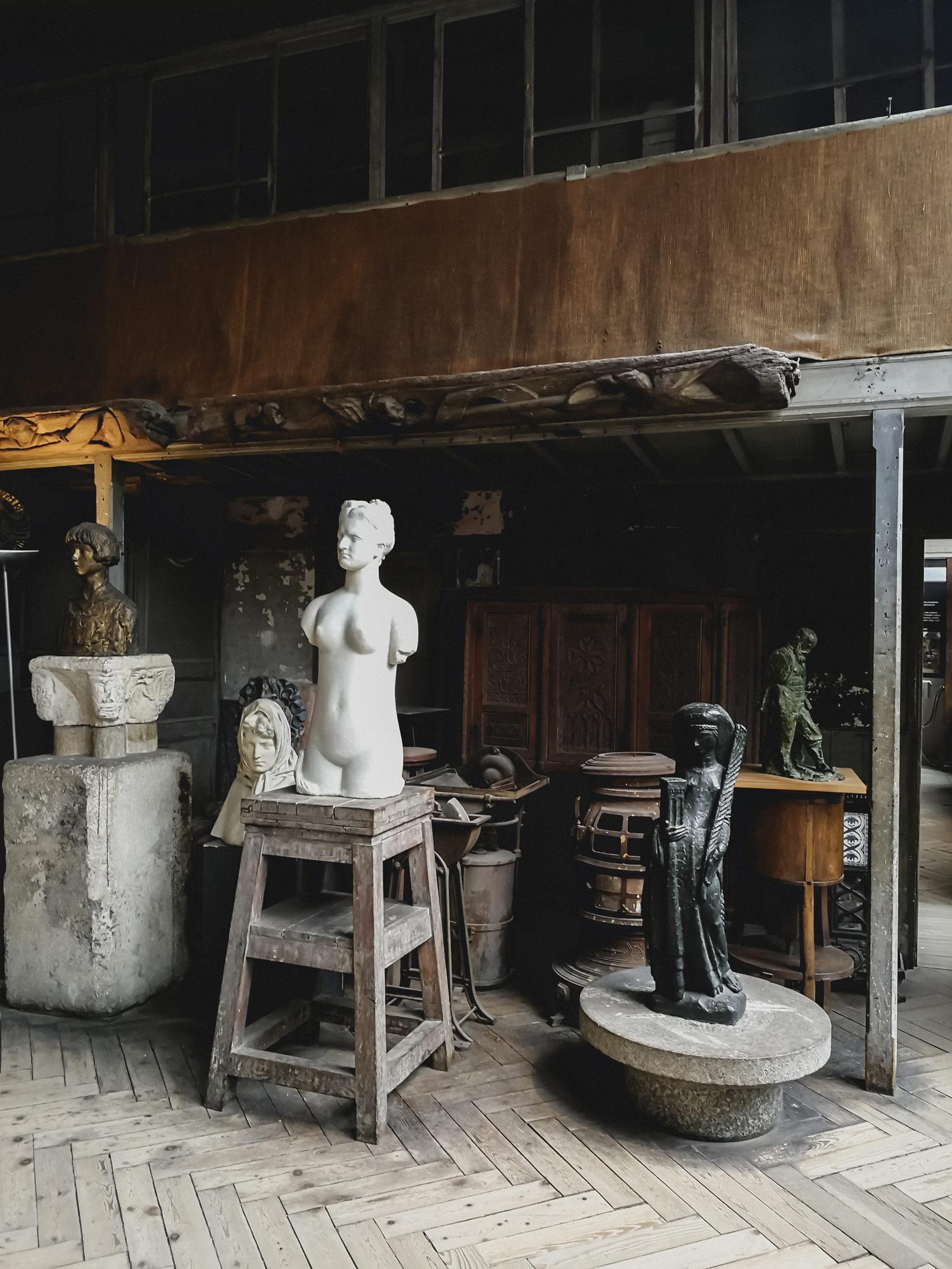 Travel In Paris: Bourdelle Museum - www.AuthenticInterior.com DESIGN BLOG