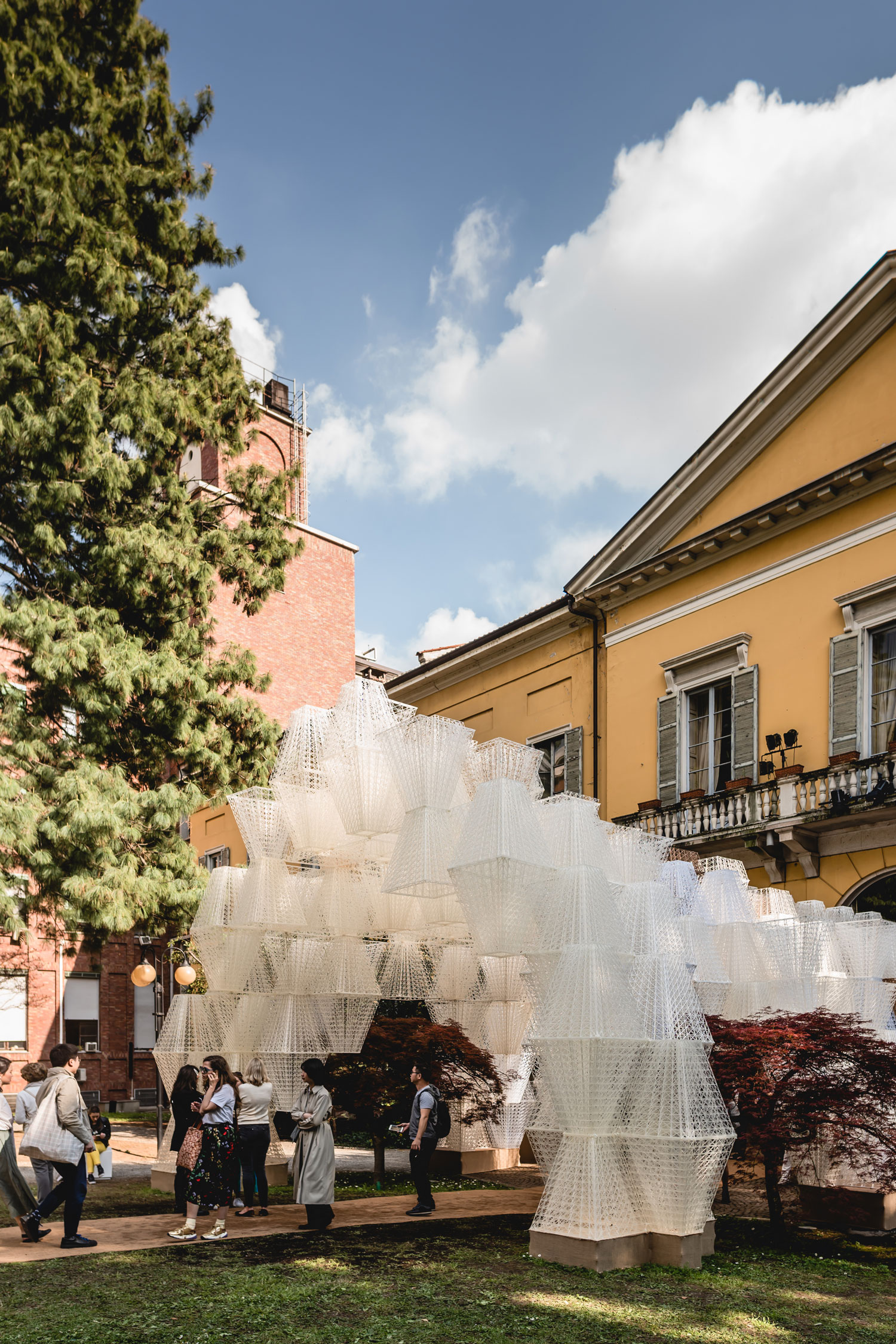 Best installations seen during milan design week 2019 - Conifera – COS × Mamou-Mani