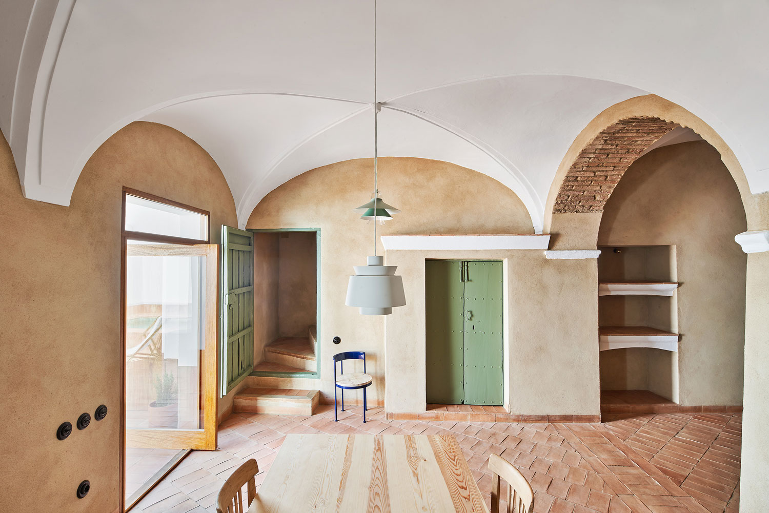 A Guesthouse In Spain Turned To A Peaceful Design Abode - WWW.AUTHENTICINTERIOR.COM Interior & Design Blog