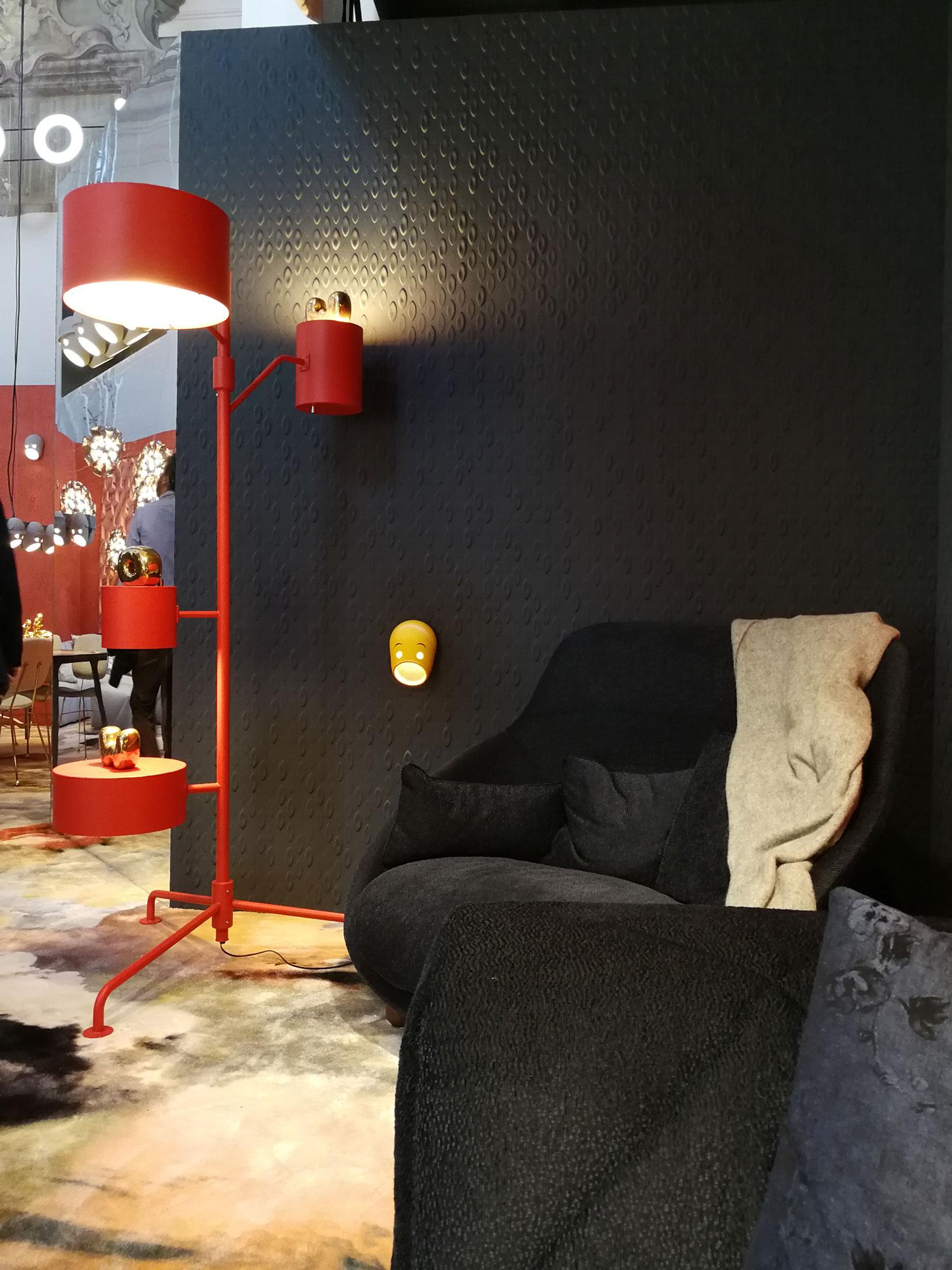 Interior design trends for 2020 - 3D Wallpaper interior trend - Authentic Interior design studio & blog www.authenticinterior.com