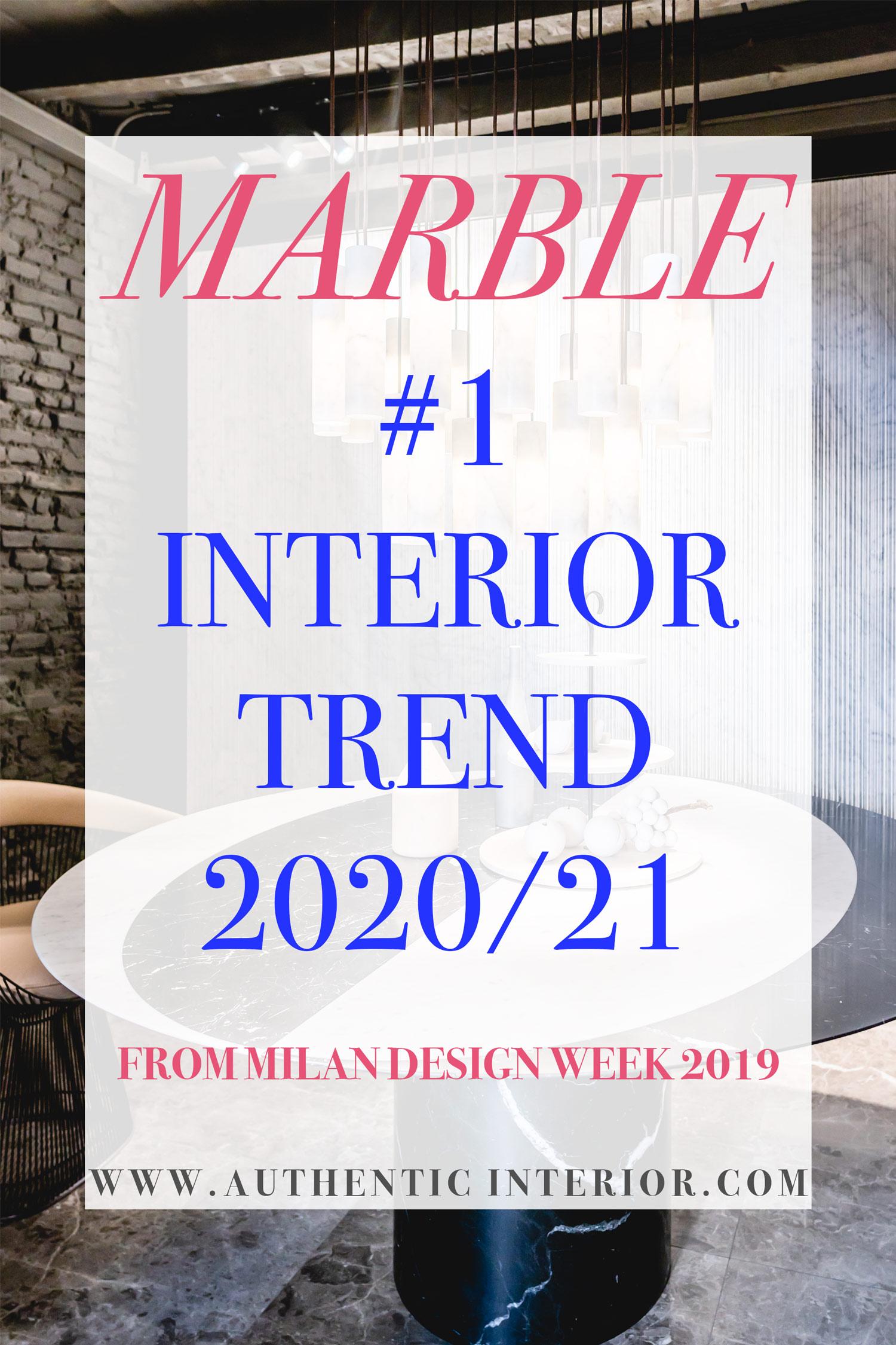 Interior design trends for 2020_Marble interior design trend_Authentic Interior design blog_interior design trends for 2020