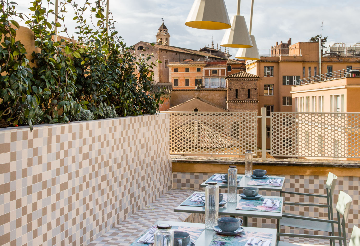 Redefining Hospitality Design With This Vibrant Hotel In Rome - WWW.AUTHENTICINTERIOR.COM design studio & blog design studio & blog