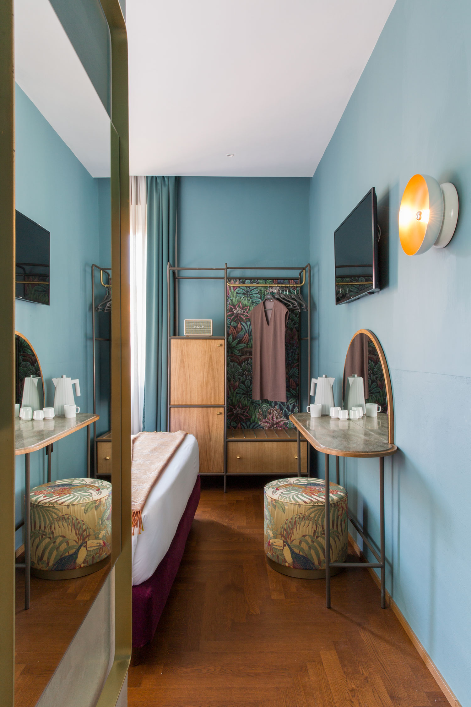 Redefining Hospitality Design With This Vibrant Hotel In Rome - WWW.AUTHENTICINTERIOR.COM design studio & blog