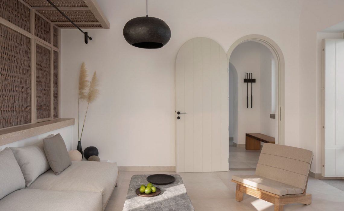 Oia Epitome Hotel In Santorini Offers Infinite Views To Cycladic Landscape