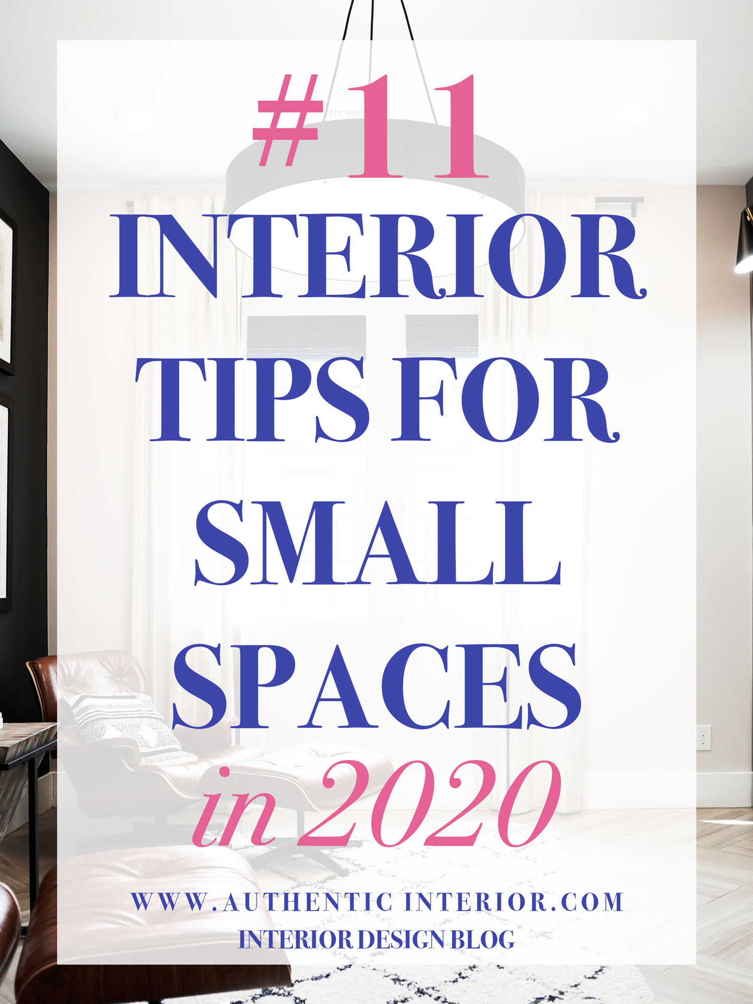 small spaces interior design
