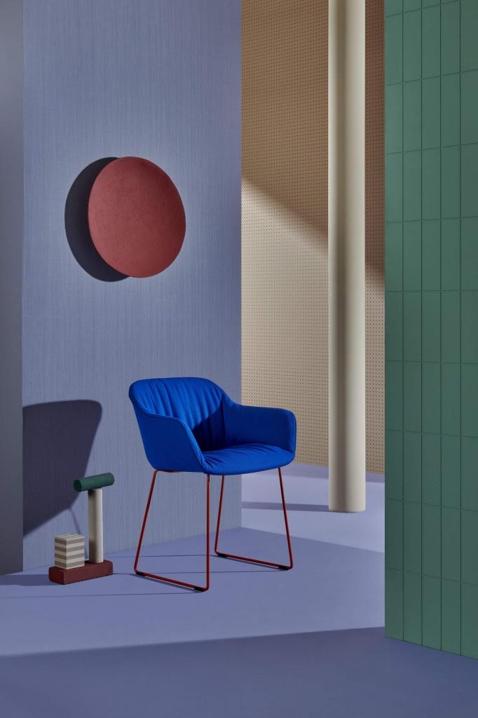 Pedrali, Babila-XL collection by Odo Fioravanti design made in italy by pedrali furniture