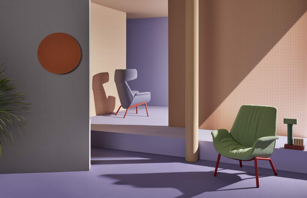 Pedrali, Ila by Patrick Jouin design made in italy by pedrali furniture
