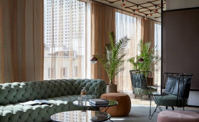 Inspiring Design Stay Modernist Puro Hotel Warsaw With Scenic Rooftop